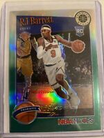 2019-20 PANINI HOOPS PREMIUM STOCK RJ BARRETT TRIBUTE GREEN PRIZM ROOKIE RC