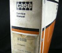 CASE 850B Crawler Tractor Service Shop Repair Manual Book Catalog Bur 9-66862