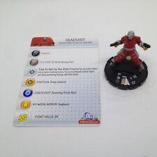 Heroclix DC75th Anniversary set Deadshot #005 Common figure w/card!