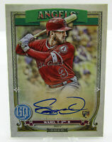 Topps 2020 Gypsy Queen Autograph Taylor Ward Los Angeles Angels Rookie GQA-TW