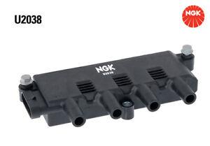 NGK Ignition Coil U2038 fits Fiat Punto 1.4 (57kw)