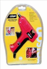 ROLSON MINI GLUE GUN DUAL TEMPERATURE WITH 7mm GLUE STICKS 10 W 240V