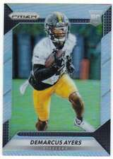 2016 Panini Prizm Silver Prizm Refractor RC #201 Demarcus Ayers Steelers