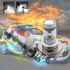 2x  6000K H4 100W CREE LED Projector Bulbs Working Fog Daytime Lamps 12V-24V