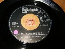 THE SHIRELLES & KING CURTIS - LOVE IS A SWINGING THING - TAKE - LISTEN / SOUL