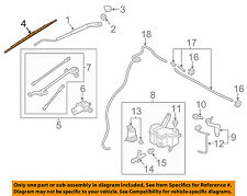 NISSAN OEM 13-15 NV200 Wiper Arm-Front Blade 288909SA0A