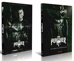 The Punisher Season 1 & 2 DVD (6-Disc Set) US Seller Region 4 Free Shipping