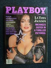Playboy Magazine Set Of 12 Full Year Complete 1989 (h328)