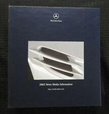 2003 MERCEDES-BENZ SL500 SL55 CL CLK SLK M SL G CLASS Press Kit 35mm SLIDES MINT