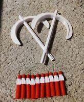 2 Haches 13 Missiles Goldorak Axes Shogun Warrior Grendizer Mattel Poppy