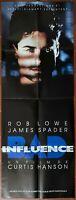 Plakat Bad Influence David Koepp Rob Lowe, James Spader 60x160cm