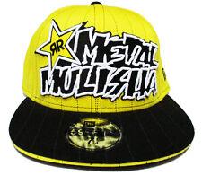 Metal Mulisha Cap Yellow Hat Yellow Cap Rockstar Energy Drink Cap New Era 7 3/8