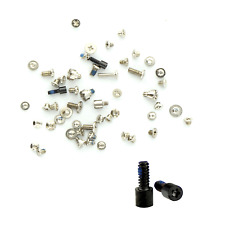 REPLACEMENT ALL IPHONE 5C INNER FULL SCREW SET BLACK WITH BOTTOM SCREWS