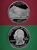 Silver 2006-S Colorado Proof State Quarter Deep Cameo Flat Rate Shipping