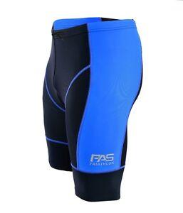 Men's Triathlon Shorts Tri Cycling Run Swim Compression Coolmax padded Shorts