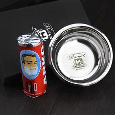Alta clase Acero Inoxidable Alemán hizo Tazón de jabón de afeitado con Arko afeitado jabón