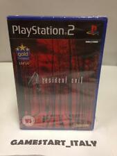 RESIDENT EVIL 4 - SONY PS2 PLAYSTATION 2 - NUOVO SIGILLATO - NEW SEALED PAL