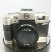 OLYMPIA NK5050 DELUXE 35MM CAMERA WITH FLASH#750