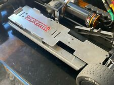 Arrma Limitless Battery Trays, Esc Plate and Side Skirts SILVER