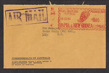 Australia 1968 Air Mail Cover Metered Papa New Guinea