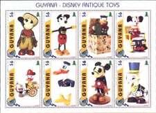 Disney  Antique Toys by Guyana  Mini-sheet MNH