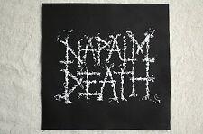 Napalm Death Back Patch (BP134) Death Metal Rock Cryptopsy Slayer Suffocation