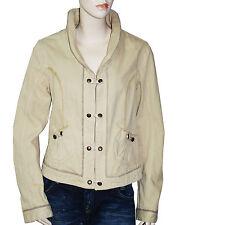 CHIPIE Veste blouson toile beige femme taille 42