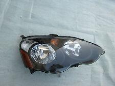 Acura RSX Headlight Front Headlamp Factory OEM 2002 03 2004 Original Black