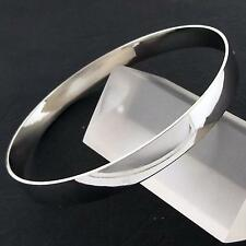 BANGLE CUFF BRACELET REAL 18K WHITE G/F GOLD SOLID LADIES GOLF DESIGN FS3AN909