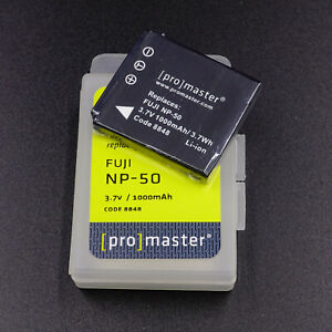 Promaster NP-50 Li-Ion Rechargeable Battery For Fujifilm  Cameras.    #C50028