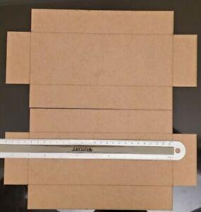 Custom train box inside dimensions 9 in x 3.25 in x 1.5 in deep un-assembled