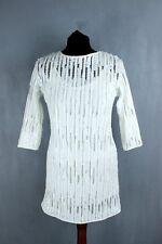 ZARA BNWT white 3/4 sleeve straight pencil dress size S