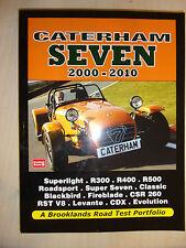 Caterham Seven '7' Road Test Portfolio BOOK MANUAL inc BUYERS GUIDE 2000-2010