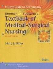 Study Guide to Accompany Smeltzer and Bare, Brunner and Suddarth's Textbook of M