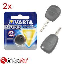 Kit di riparazione per chiave telecomando 4 micro tasti 2 alloggiamenti 2 batterie CR2016 per Nissan