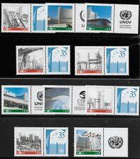 United Nations Scott #Vienna 543, PAIRS 2014 Complete Set FVF MNH