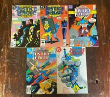 New listing Justice League International (1987) Lot Issues 7-11 (inclusive)
