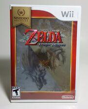 The Legend of Zelda:Twilight Princess Nintendo Wii 2006 Nintendo Selects Sealed
