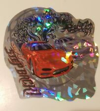 Toyota supra MKIV JZA80 vs Mazda RX-7 FD rare ZUM Speed Dykom Decal sticker