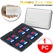 Memory Card Wallet 16 Micro SD SDHC Protecter Storage Holder Pouch Case US Stock