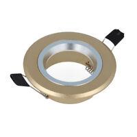 Einbaurahmen Einbauspot Einbausfassung für GU10 Deckeneinbaustrahler Leuchte Set