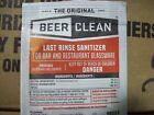 100 Pack Beer Clean Last Rinse Sanitizer, .25 oz. packet
