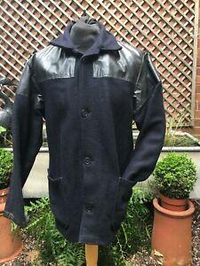 Original British wool Donkey jacket men's size large
