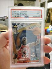 1994 Collectors Choice #402 Michael Jordan Silver Signature PSA 9 MINT