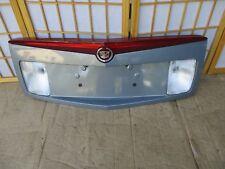 03-07 Cadillac CTS BLUE Center Taillight Reverse 3rd Brake Light Trunk Trim