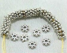Antique Silver/Gold/Bronze/Copper Beads Daisy Flower Spacer Beads 4mm,150 Pcs