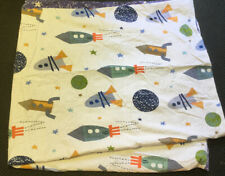 Kids Duvet Cover For A Full Comforter Space Ship And Planet Design