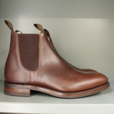 Loake Chatsworth Chelsea Boots 7 ½ G in Brown Calf on Dainite Sole (138)