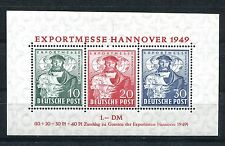 GERMANY AMERICAN BRITISH ZONE SCOTT 664a PERFECT MNH HANNOVER EXPORT SHEET