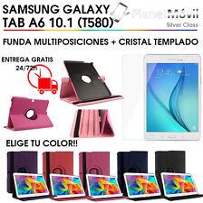 "FUNDA GIRATORIA TABLET + CRISTAL TEMPLADO SAMSUNG GALAXY TAB S2 9.7"" PULGADAS"